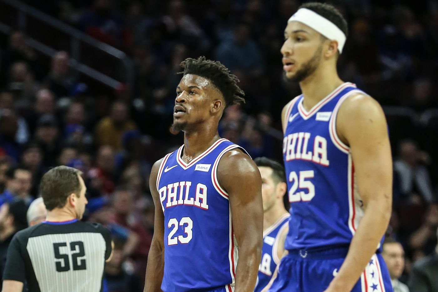 JImmy Butler and Ben SImmons