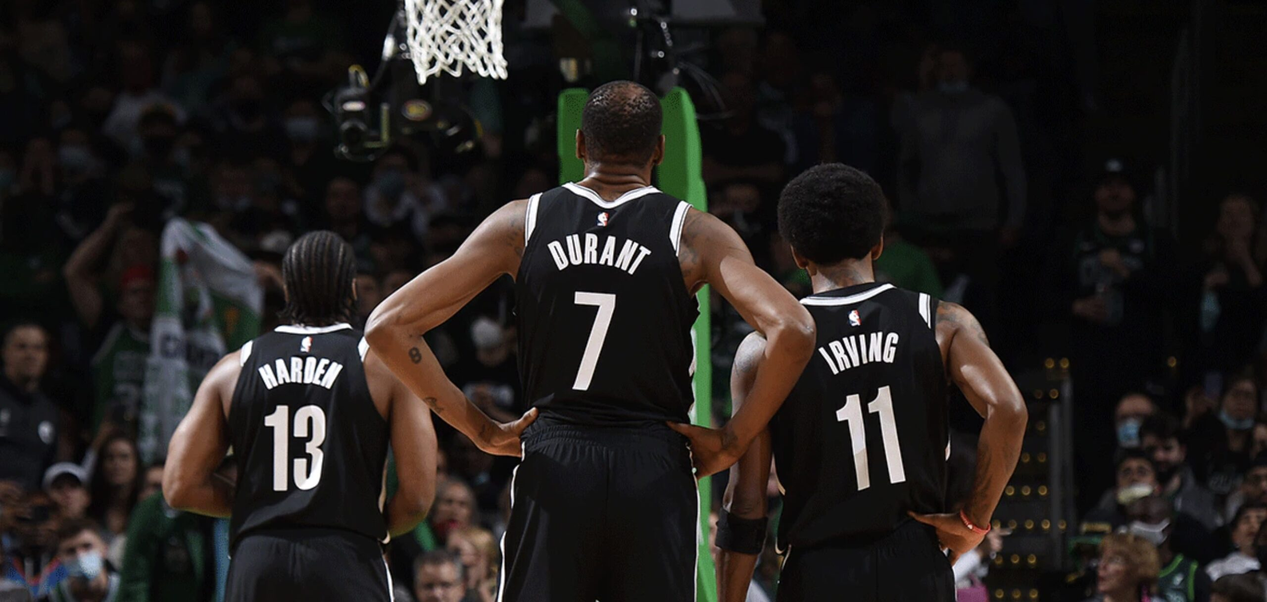 James Harden, Kevin Durant and Kyrie Irving