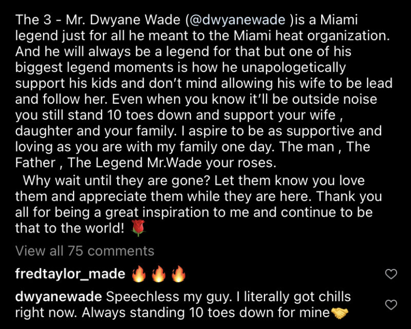 Duke Johnson Dwyane Wade tattoo