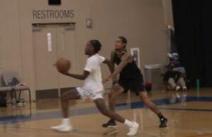 Zaire Wade and Jordan Clarkson