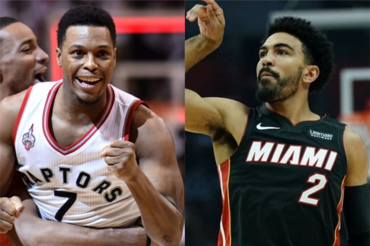 Kyle Lowry and Gabe Vincent