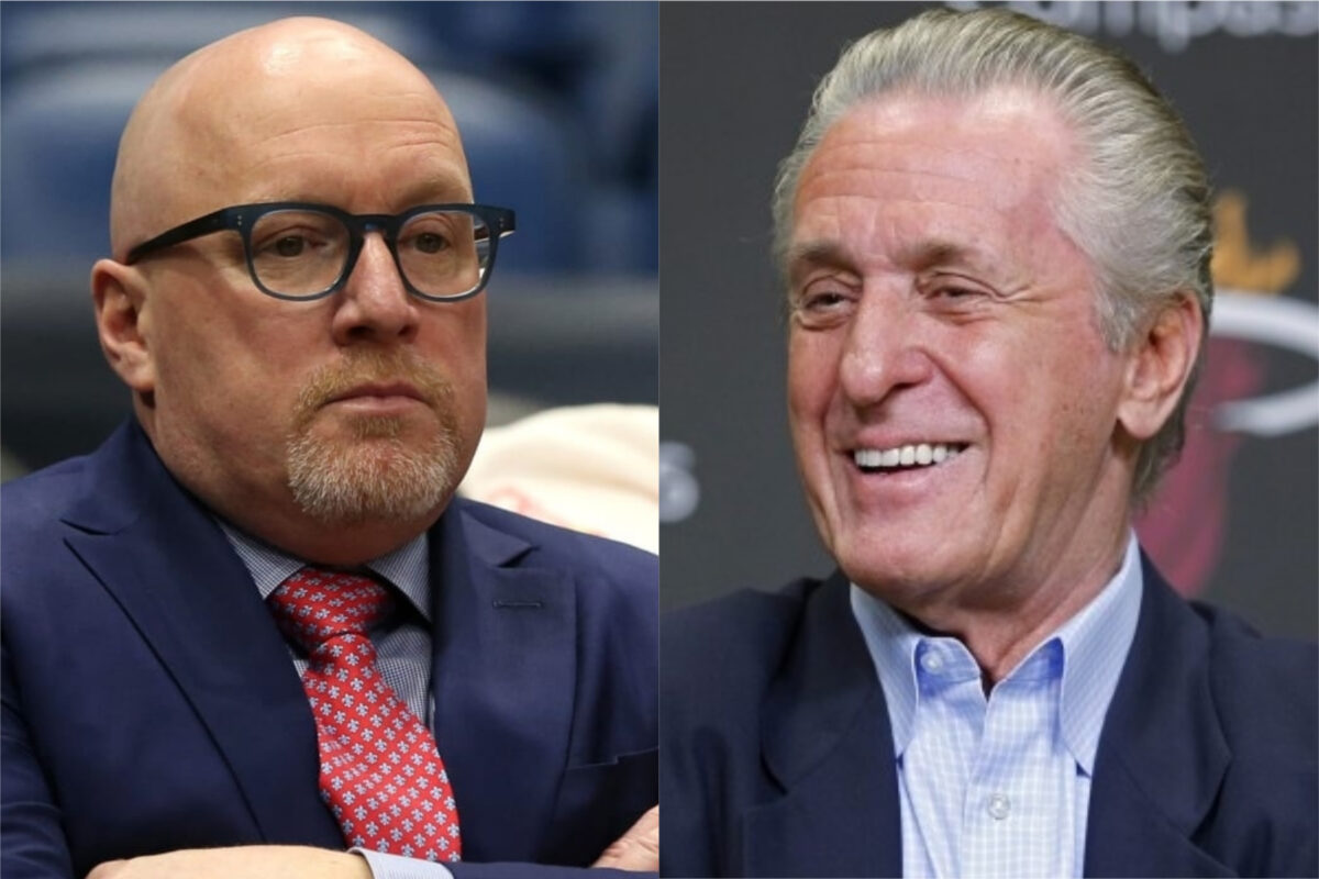 David Griffin and Pat Riley