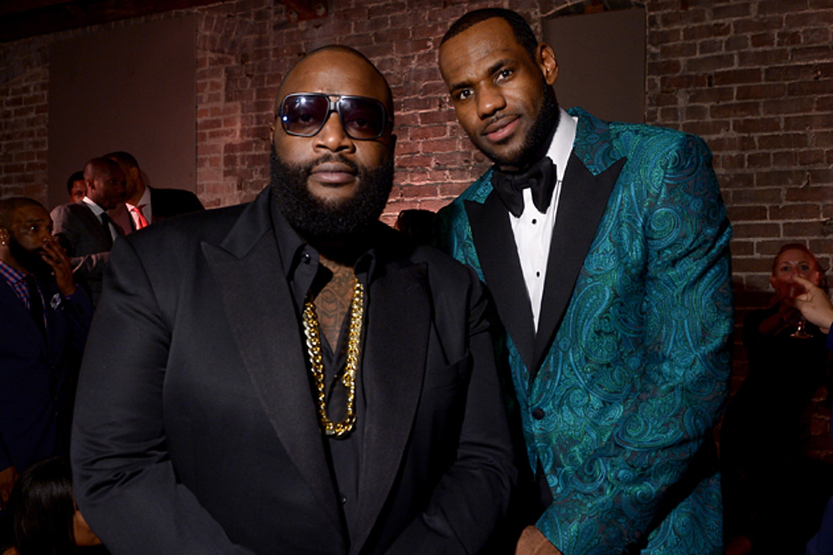 Rick Ross and LeBron James