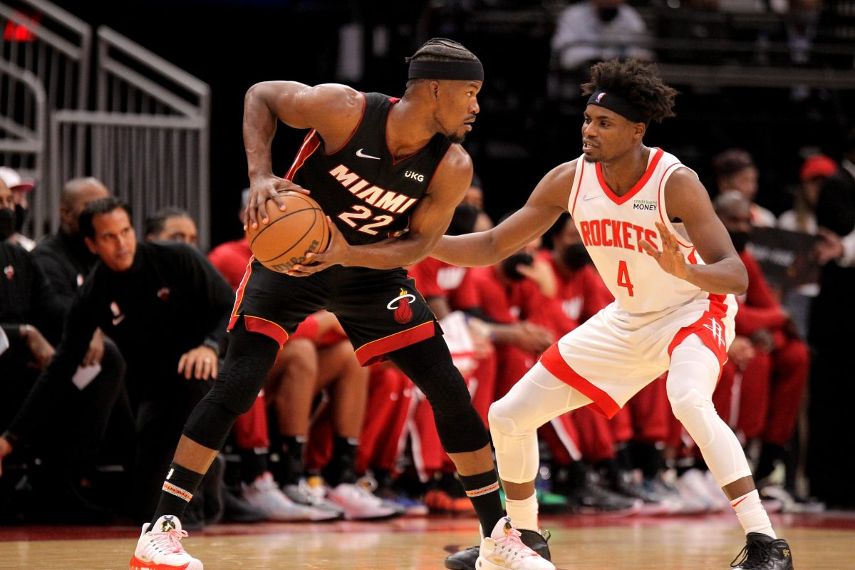 Jimmy Butler and Danuel House