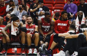 Miami Heat bench